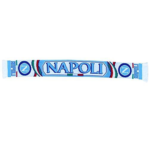 SSC Napoli Serie A Football Crest Fans Souvenir Scarf (100% Acrylic)