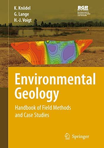 Environmental Geology: Handbook of Field Methods and Case Studies