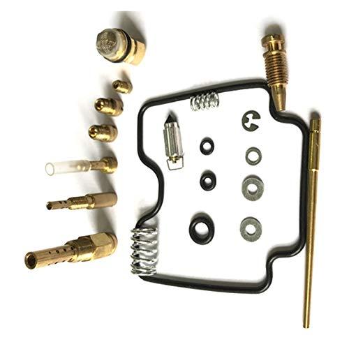 UGUTER Go Kart Carburetor Kit de reconstrucción de carburador para LTZ400 2003-2008 LTZ 400 Z400 CARBURARTOR DE CARBURARIO DE CARBURA DE CARBURA DE Carbo Piezas DE Repuesto Carburador 125cc