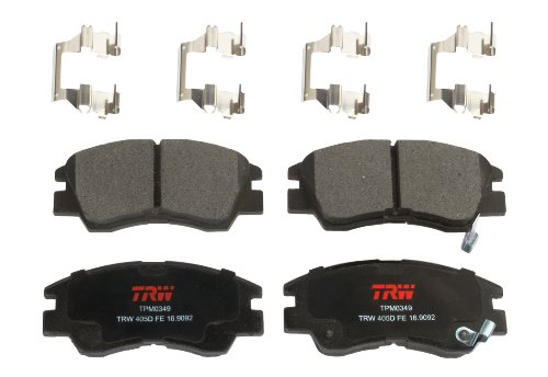 TRW Automotive TPM0349 Disc Brake Pad Set for Mitsubishi Mighty Max: 1987-1996 and other applications Front