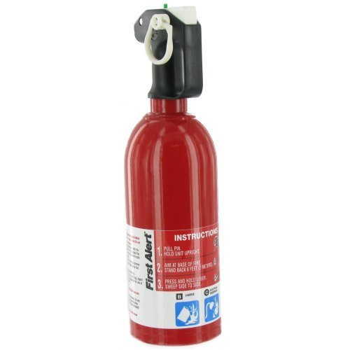 First Alert Auto Fire Extinguisher UL rated 5-B:C (Red) by First Alert