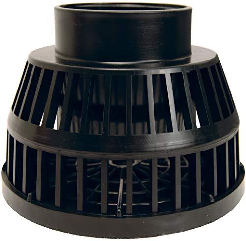 Dixon TSS35 3' NPT Black Polyethylene Suction Strainer