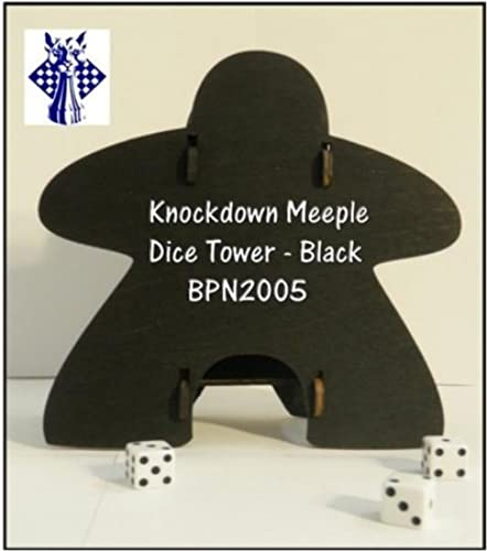 Dice Tower  Meeple, Knockdown