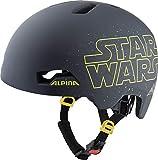 ALPINA Hackney Disney, Caschi da Ciclismo Boys, Star Wars Black, 51-56