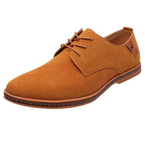 Heren Vrijetijdsschoenen van leer, business-schoenen, ademend, lederen schoenen, Oxford-schoenen, party, bruiloft, maten 38-48 By Vovotrade