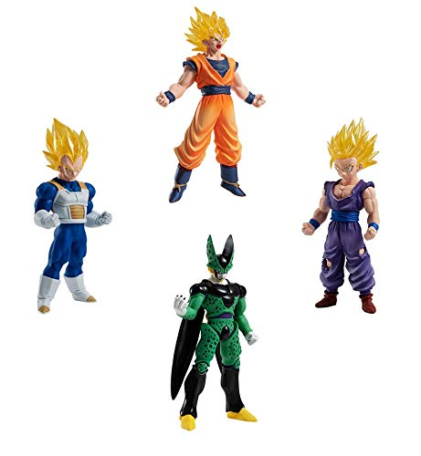 Gashapon Dragon Ball Super HG 05 Set of 4 Types [Japan Import]