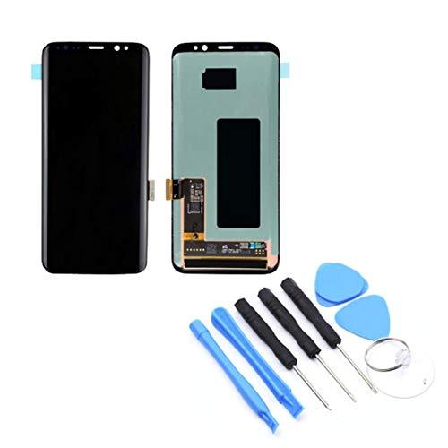 Rouku LCD-Display Touchscreen-Digitalisierer ohne Rahmen Ersatzteile für Mobiltelefone Für Samsung S8 G950F / G950AVTP