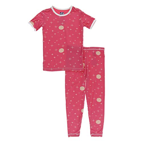 Laura Dare Baby Girls Rosebud Jersey Short Sleeve Jumpsuit Pajama 24m 3m
