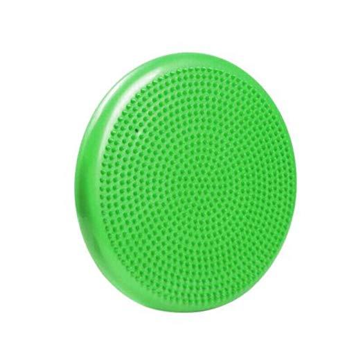 YALINA Cuscino per L'equilibrio, Stabilità da 33 Cm E Piastra di Allenamento per L'equilibrio, Cuscino d'Aria per L'oscillazione 33cm Verde