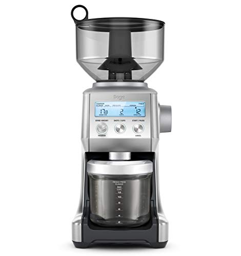 Sage BCG820BSSUK the Smart Grinder Pro Coffee Grinder - Silver Cooking & Dining Garden & Outdoors