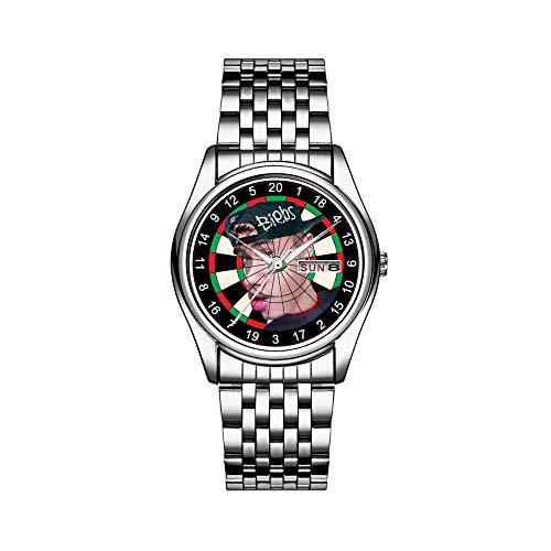 Reloj de lujo para hombre, resistente al agua, 30 m, con fecha, reloj de pulsera deportivo, de cuarzo, informal, regalo