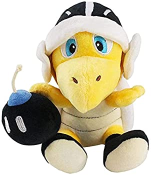 Nucifer Super Mario Bros Koopa Troopa with Bomb Anime Stuffed Plush Kids Toys 8 inch