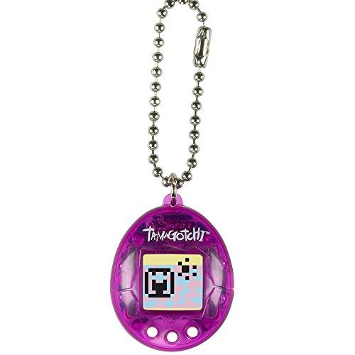 TAMAGOTCHI Bandai – 41820 Transparentes Lila – Mini-Ei mit virtuellem Tier