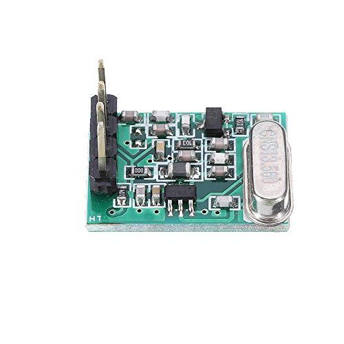 Modulo electronico Baja Tensión de alto rendimiento módulo de transmisión 315 MHz TX8 DC1.8V-3.6V TTL ASK superheterodino módulo inalámbrico 10pcs