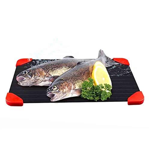 Platte Auftauen AGYH Defrost Tray Schnell Thawing Teller, Thawing Tray for Gefrorenes Fleisch, Thawing Platte Ohne Wasser Und Strom, Geschirrspüler Kann Verwendet Werden, (Size : 29.5X20.5CM)