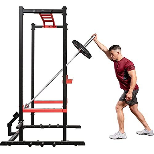 Sunny Health & Fitness SF-XFA004 - Accesorio Unisex para Racks y jaulas, Color Negro, Talla única