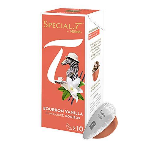 Original Special T – Rooibos Bourbon Vanilla – 10 Kapseln (1 Packung) für Nestlé Tee Maschinen – hier bestellen