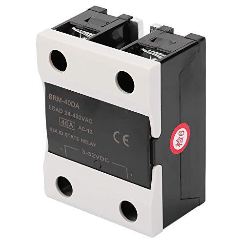 BRM-40DA Carga 24-480V Relé de estado sólido de salida de control de maquinaria para el proceso de automatización industrial