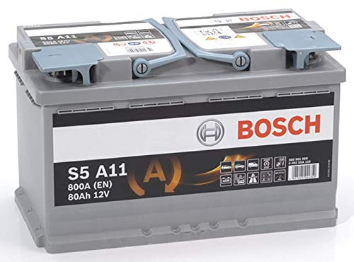 BOSCH 0092S5A110 Batterie AGM 12 V 80Ah 800 A B13