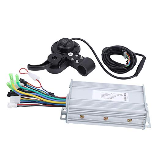 Resistente al desgaste robusto duradero controlador LCD pulgar Shifter eléctrico Scooter Motor controlador para entretenimiento en casa para entrenamiento competición (500W)