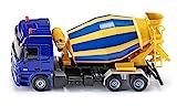 siku 3539 Camión hormigonera, Tambor giratorio, 1:50, Metal/Plástico, Amarillo/Azul