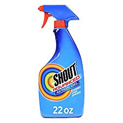Shout Spray and Wash Advanced Action Stain Remover for Clothes