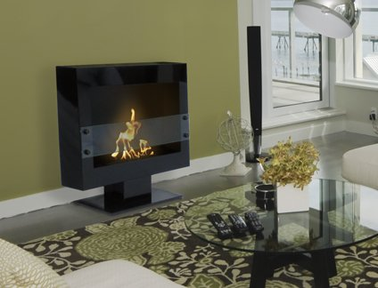Great Features Of Anywhere Fireplace - Tribeca II Ventless Fireplace