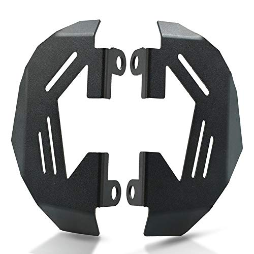 Mei-mracia Freno Delantero de la Motocicleta de la Cubierta del calibrador for BMW F800R R1200GS LC Adventure R 1200 R/RS/RT LC R1200GS LC 2013 2014 2015 2016 a 2020 (Color : Black)