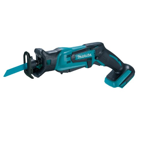 Makita XRJ01Z 18-Volt LXT Lithium-Ion Cordless Compact Reciprocating Saw (Tool Only, No Battery), Bare Tool