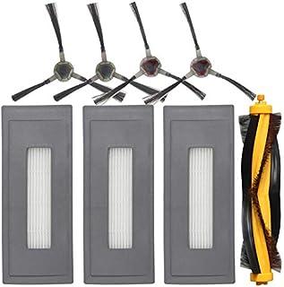 Części odkurzacza Akcesoria zastępcze Zestaw Kompatybilny Dopasowany dla Ecovacs DEEBOT OZMO 930 Robotic Odkurzacz, 1 Głów...