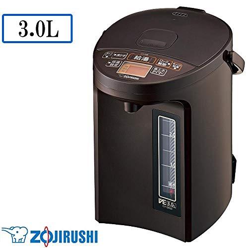 象印 マイコン沸とうVE電気まほうびん 3.0L ブラウンZOJIRUSHI 優湯生(ゆうとうせい) CV-GB30-TA