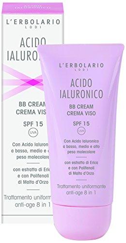 L  erbolario acido ialuronico BB Cream Face, 50 ml