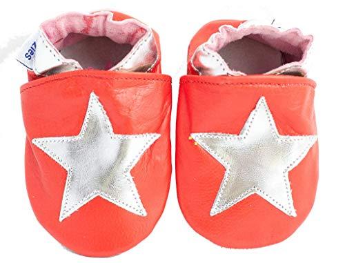 Shoozies , {Chaussures Premiers Pas pour bébé (garçon) Red 0-6 Mois