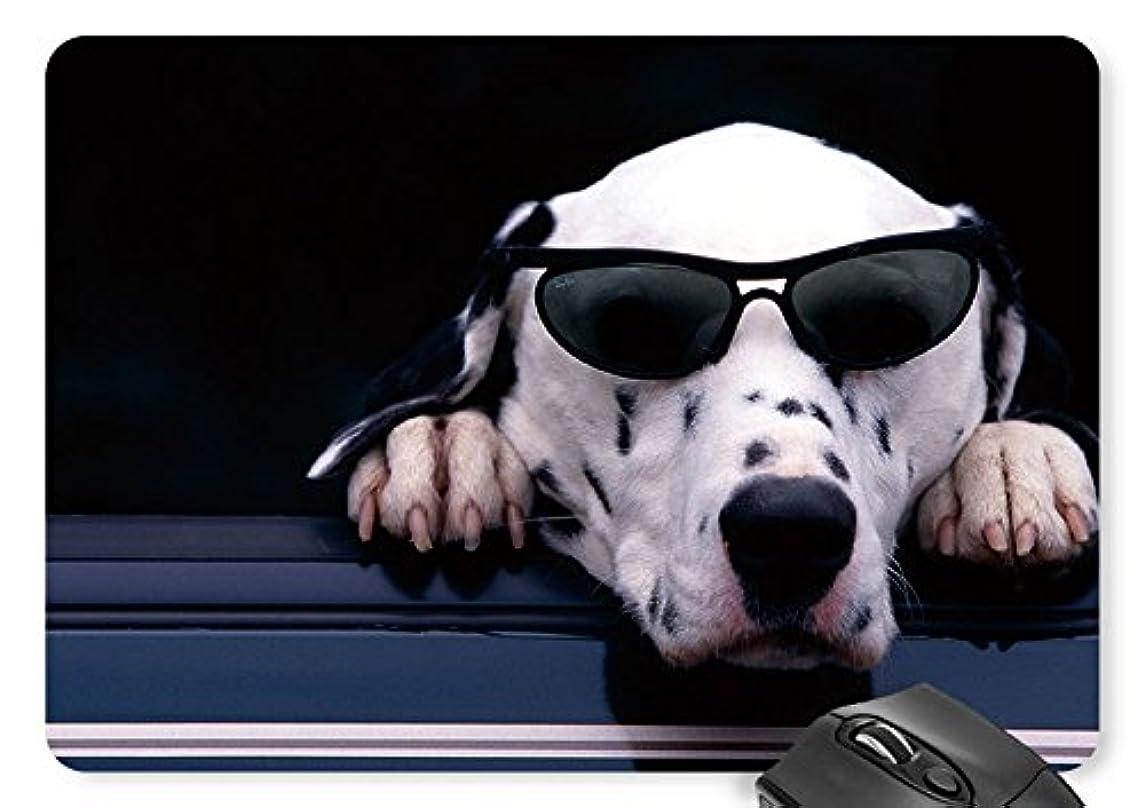 Mouse Mat Sunglasses Cool Dog Mouse Pad