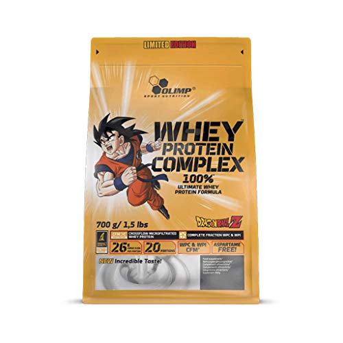 Olimp Sport Nutrition Whey Protein Complex Dragon Ball Pouch Vanilla Ice Cream, 700 g