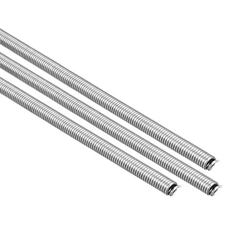 uxcell Heating Element Coil Wire AC220V 3000W / AC110V 750W Kiln Furnace Heater Wire 7.2mm 800mm 3PCS