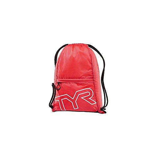 TYR LPSO2610ALL Rucksack mit Kordelzug, Rot