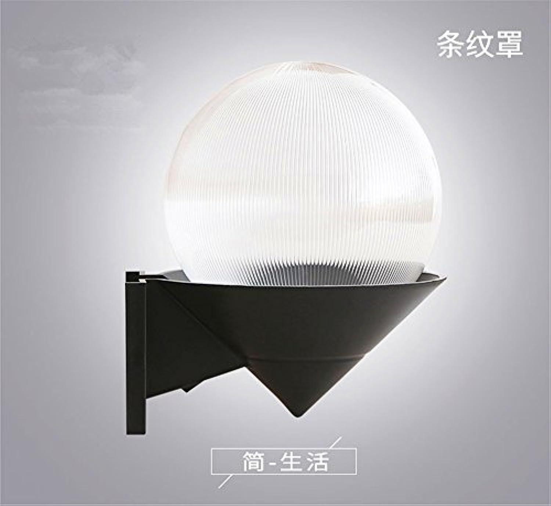 StiefelU LED Wandleuchte nach oben und unten Wandleuchten Wasserdichtes regen loft Schlafzimmer Treppen passage Flur WC Balkon outdoor Acryl lampe Wandleuchte