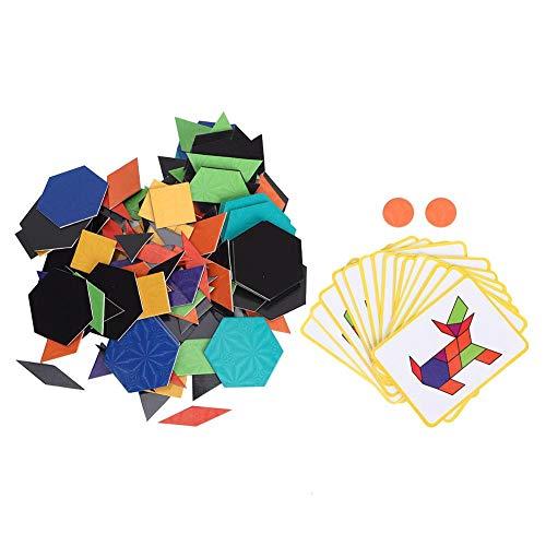Magnetische Puzzel voor Kinderen,Puzzels voor Kinderen Speelset,Interactief Speelgoed voor Hersenontwikkeling,Leerpuzzels Bord Educatief Speelgoed,Verjaardagscadeau voor Meisjes en jongens (kleurrijk)