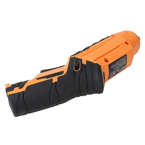 Electric Screwdriver, With Led Light Battery Screwdriver, 4.5N.M Max Force Rechargeable 250 Rpm No-Load Speed Handheld for Men Women