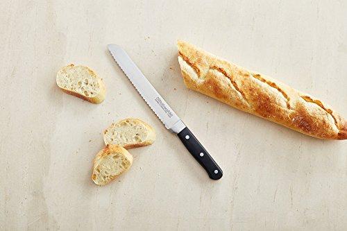"KitchenAid KKFTR8BROB Serrated Pastry Knife, Onyx Black, 8"""