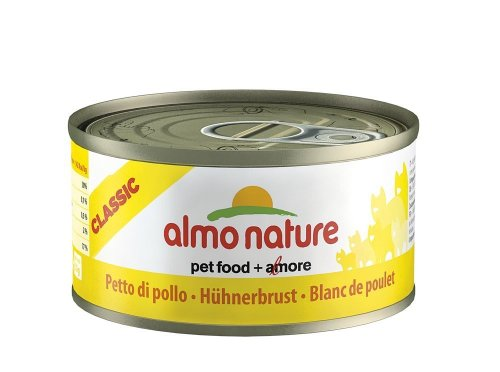 24 Pack almo Nature Gallinas Pecho 70 g