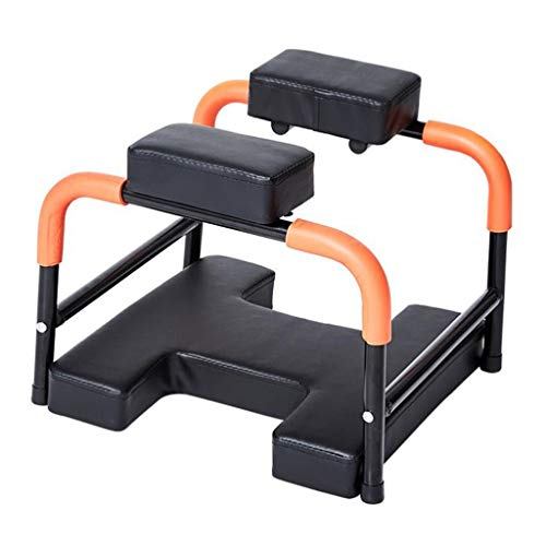 Fantastic Deal! JLFSDB Inverted Stand Yoga Headstand Bench Home Fitness Upside Down Stool for Workou...