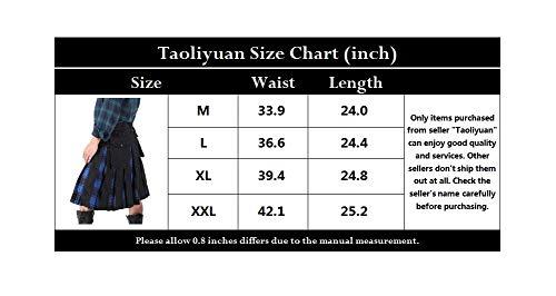 Traditional & Cultural Wear Taoliyuan Mens Kilt Scottish Highland ...