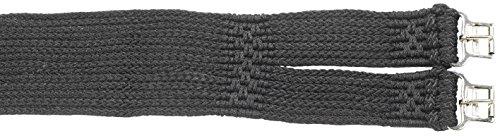 BUSSE Sattelgurt SCHNUR-STANDARD, 90 cm, schwarz