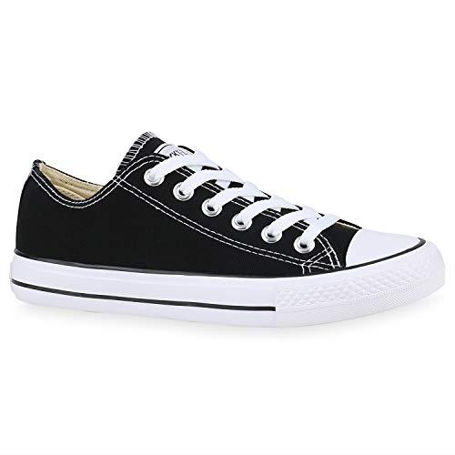 Laarsparadies Unisex dames heren sneaker Low grote maten Flandell