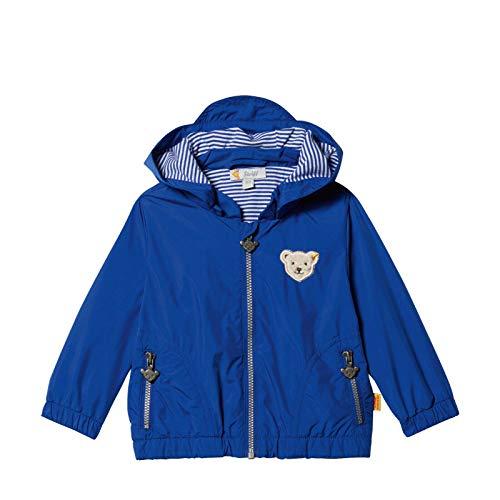 Steiff® Baby Jungen Sommer-Wetter-Jacke Anorak, Präzise Farbe:Blau, Größe:68