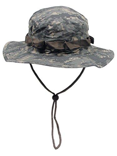 US GI Chapeau de brousse avec mentonnière AT Digital, gris, xl