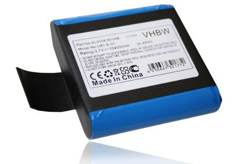 vhbw Li-Ion Akku 10400mAh (3.7V) passend für Wireless Digital Radio Pure Jongo S3, S340b