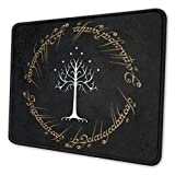 Lord Rings Mouse Pad Non-Slip Waterproof Foldable Rubber Base Gaming Mouse Pad for Desktop Computers Laptop Office Home & More Mouse Pads 10x12 in